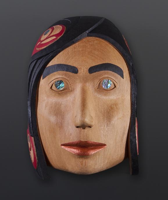 Fog Woman Nathan Wilson Haisla Mask