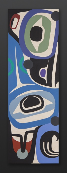 raven of love steve smith northwest coast native art pike place seattle contemporary original painting raven