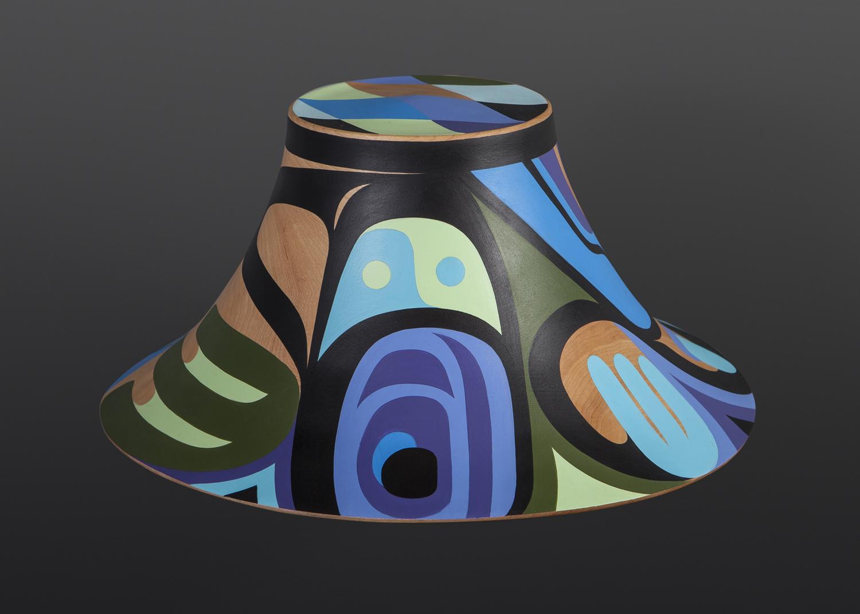Steve Smith - Dla'kwagila Oweekeno balance Turned maple hat