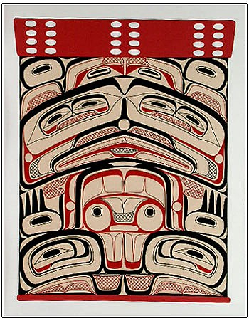 Northern Box Study Human Design John Livingston Kwakwaka'wakw bentwood box study traditional