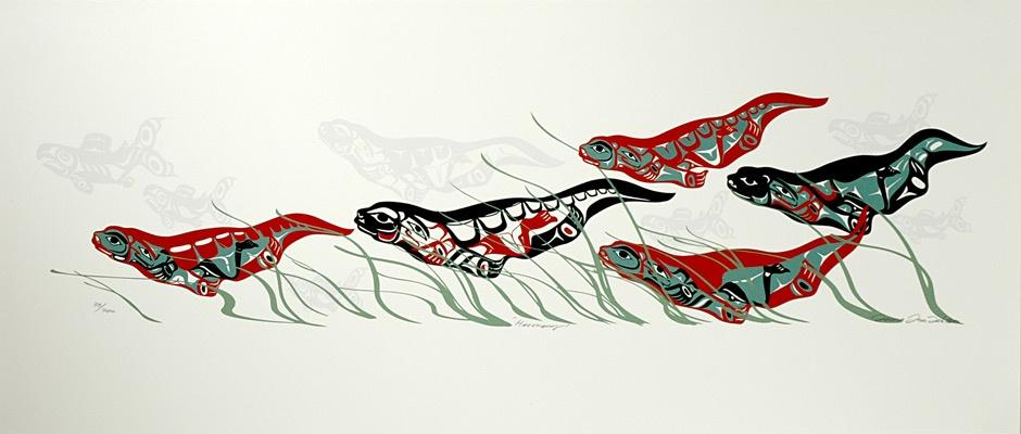 Mark Preston Tlingit Serigraph Limited Edition