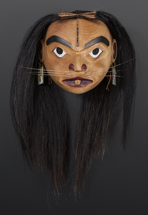 Mouse Woman Shawn Aster Tsimshian Mask