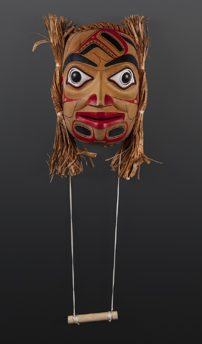 Cori Savard Haida In Search of mask