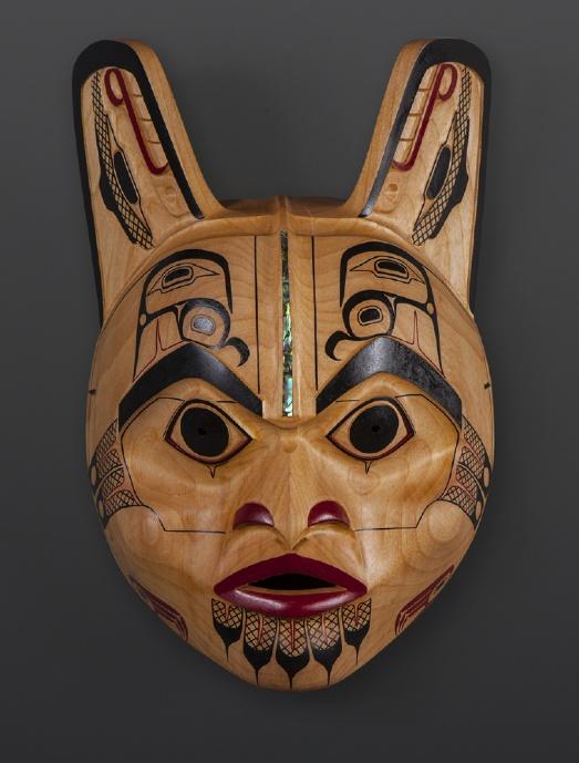 Supernatural Raven Shawn Aster Tsimshian mask