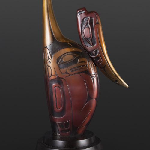 Hyacinth Medicine Amulet Preston Singletary Tlingit Bronze 25 1/4