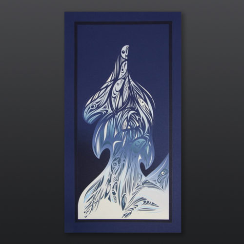enduring spirits Susan Point Coast Salish Serigraph