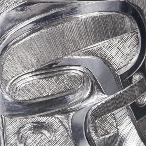 imagination bracelet marcel russ haida silver 1 1/2