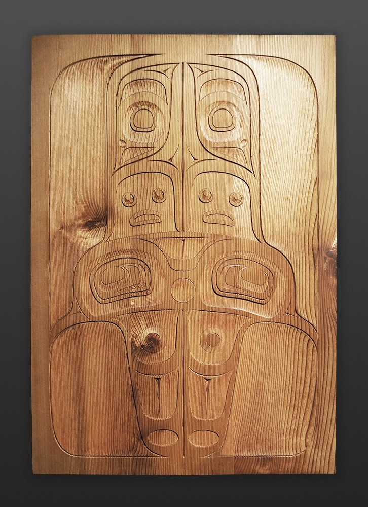 Shawn Aster Tsimshian Ghost cedar panel 1900