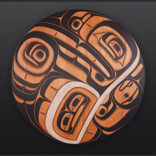Big Dipper Phil Gray Tsimshian Raven Panel 8400