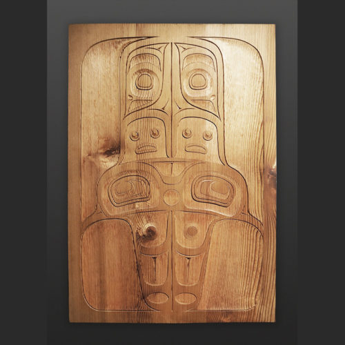 Shawn Aster Tsimshian Ghost cedar panel 1900