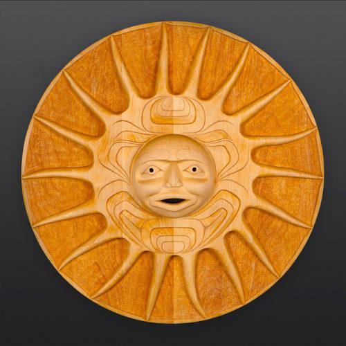 Erich Glendale Kwakwaka'wakw Sun Starfish Yellow cedar 4000