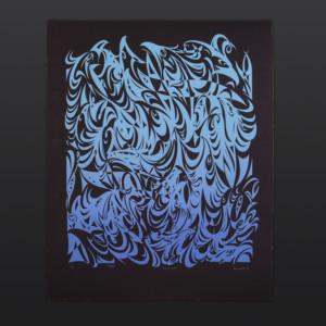 "Rising Water Susan Point Coast Salish Limited Edition Serigraph 34"" × 28"" $1075"