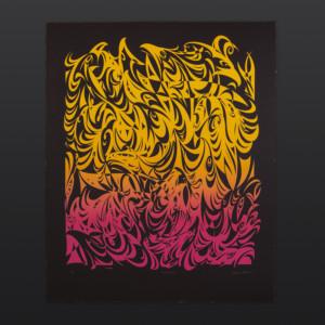 "Wild Fire Susan Point Coast Salish Limited Edition Serigraph 34"" × 28"" $1075"
