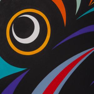 "Salish Eagle Maynard Johnny Jr Coast Salish 30"" x 22½"" $3000"