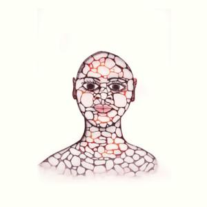 PADLOO SAMAYUALIE Pebble Woman Etching & Aquatint Printer: Studio PM 60 x 47.5 cm; 23 1/2 x 18 3/4 in. $480 US