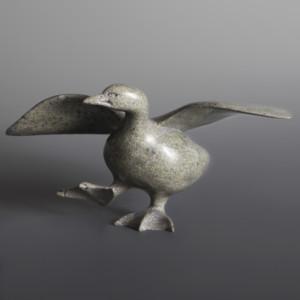 "Bird Pudlalik Shaa Inuit Serpentine #46 9 ½"" x 5"" x 5"" $1100"