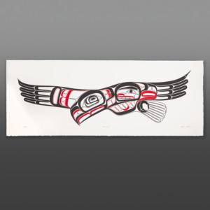 "Homecoming Clifton Guthrie Tsimshian Serigraph 14"" x 36"" $200"