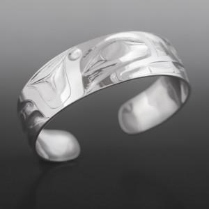 Orca Bracelet Alvin Adkins Haida Silver $475