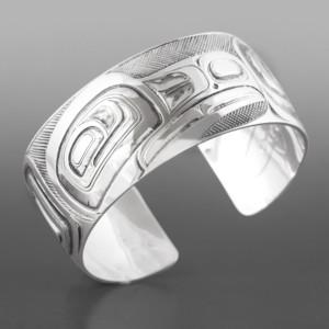 """Raven Corey Moraes Tsimshian Silver 1"""" $1900"""