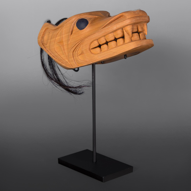 Wolf Mask Carol Young Bagshaw Haida