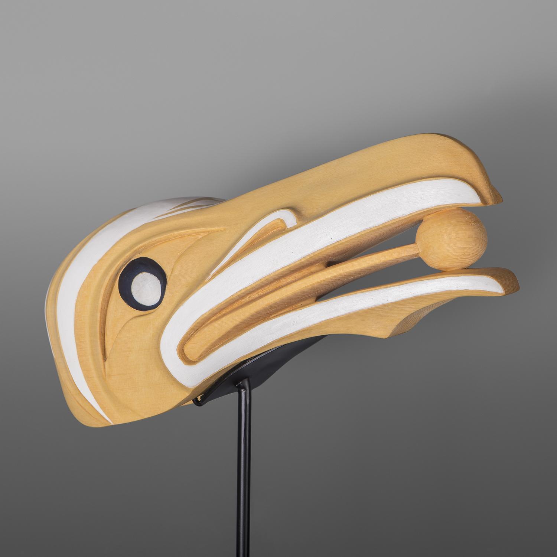 Raven & Light Mask Carol Young Bagshaw Haida