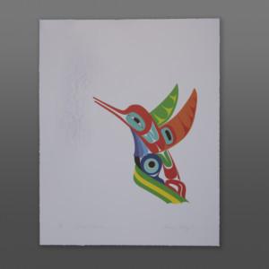 Sweet Success Marvin Oliver Hummingbird print