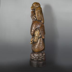 Killer Whale Totem Bronze Preston Singletary Tlingit