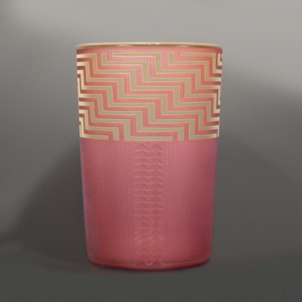 Salmon Shelf Glass Basket Preston Singletary