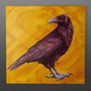 Raven Jean Taylor Tlingit contemporary painting