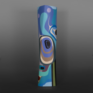 Steve Smith Native Artist contemporary sculpture heron