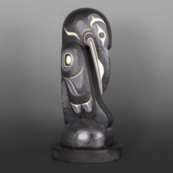 Raven Sculpture Northwest Coast Erich Glendale