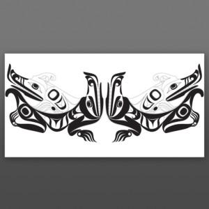 Wolves Nytom (John Goodwin) Makah Limited Edition Giclee Print