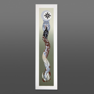 Common Ties Susan Point Coast Salish Serigraph