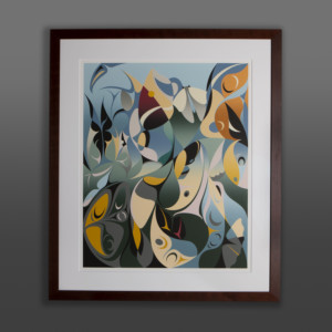 Symphony of Butterflies Susan Point Coast Salish print