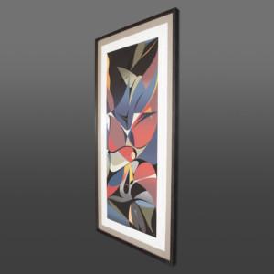 Into the Light Susan Point Coast Salish abstract print