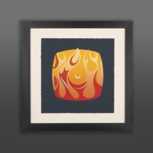 Four Elements - Fire Susan Point Salish print