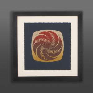 Four Elements Earth Susan Point Coast Salish print