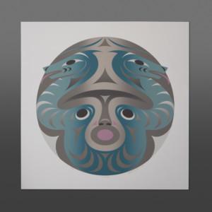 Statíәẃ (Little River) Kelly Cannell Coast Salish print