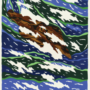 Above the Storm Ooloosie Saila Inuit Cape Dorset Print Collection 2020