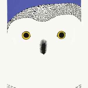Okpik Selfie Pee Ashevak Inuit Stonecut Cape Dorset Print Collection 2020