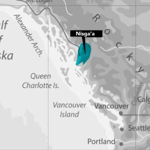 Nisga'a Nation Map