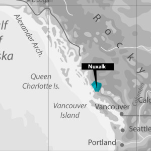 Nuxalk Nation Map