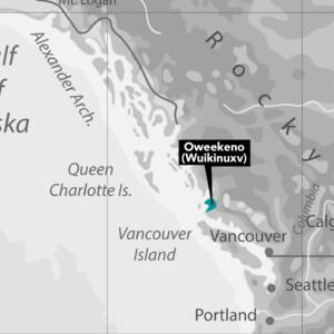 Oweekeno Nation Map