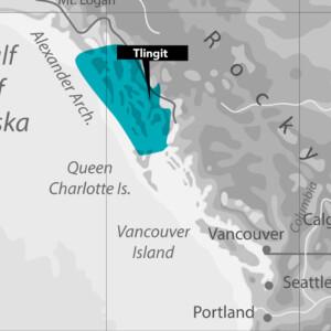 Tlingit Nation Map
