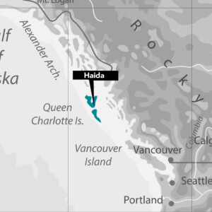 Haida Nation Map