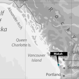 Makah Nation Map