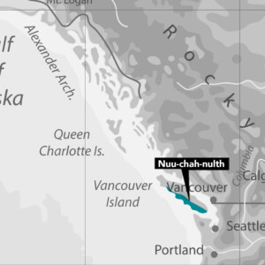Nuu-chah-nulth Nation Map