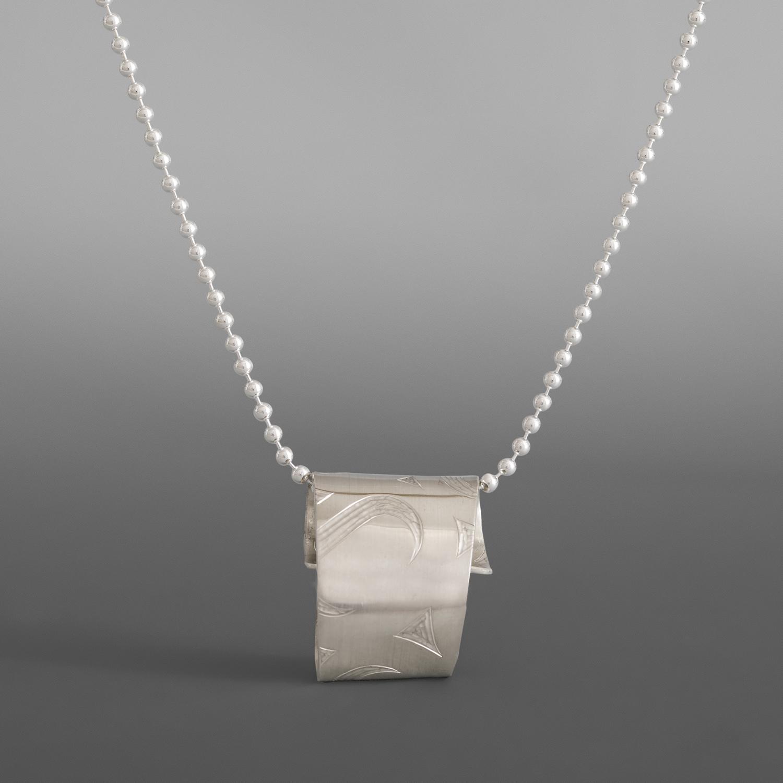 Wrapped Necklace Jennifer Younger Tlingit Silver