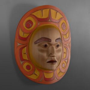 "ksuut – Autumn Phil Gray Tsimshian 22"" x 20"" x 8"""