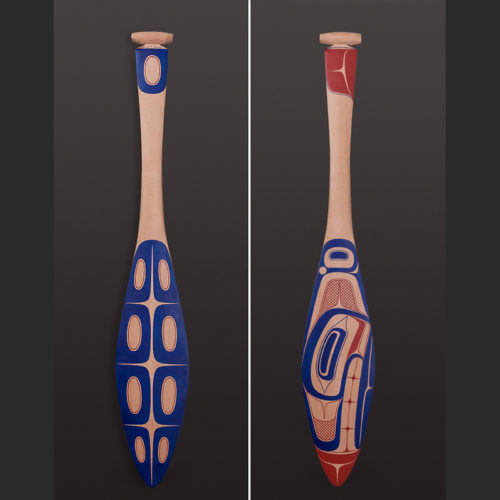 Orca Ceremonial Paddle David R. Boxley_sq